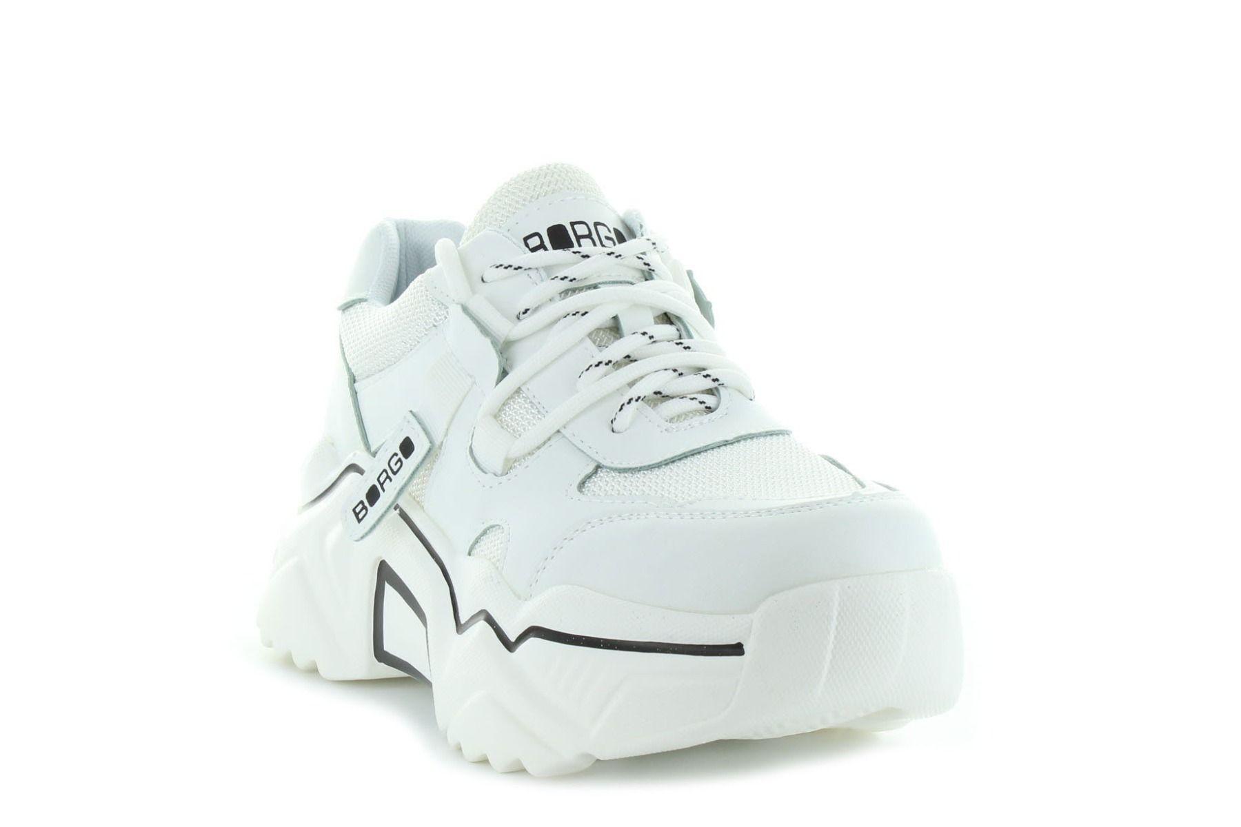 Borgo Conform fekete női sneaker