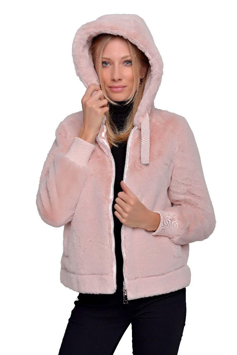 Metrofive kapucnis női pulóver