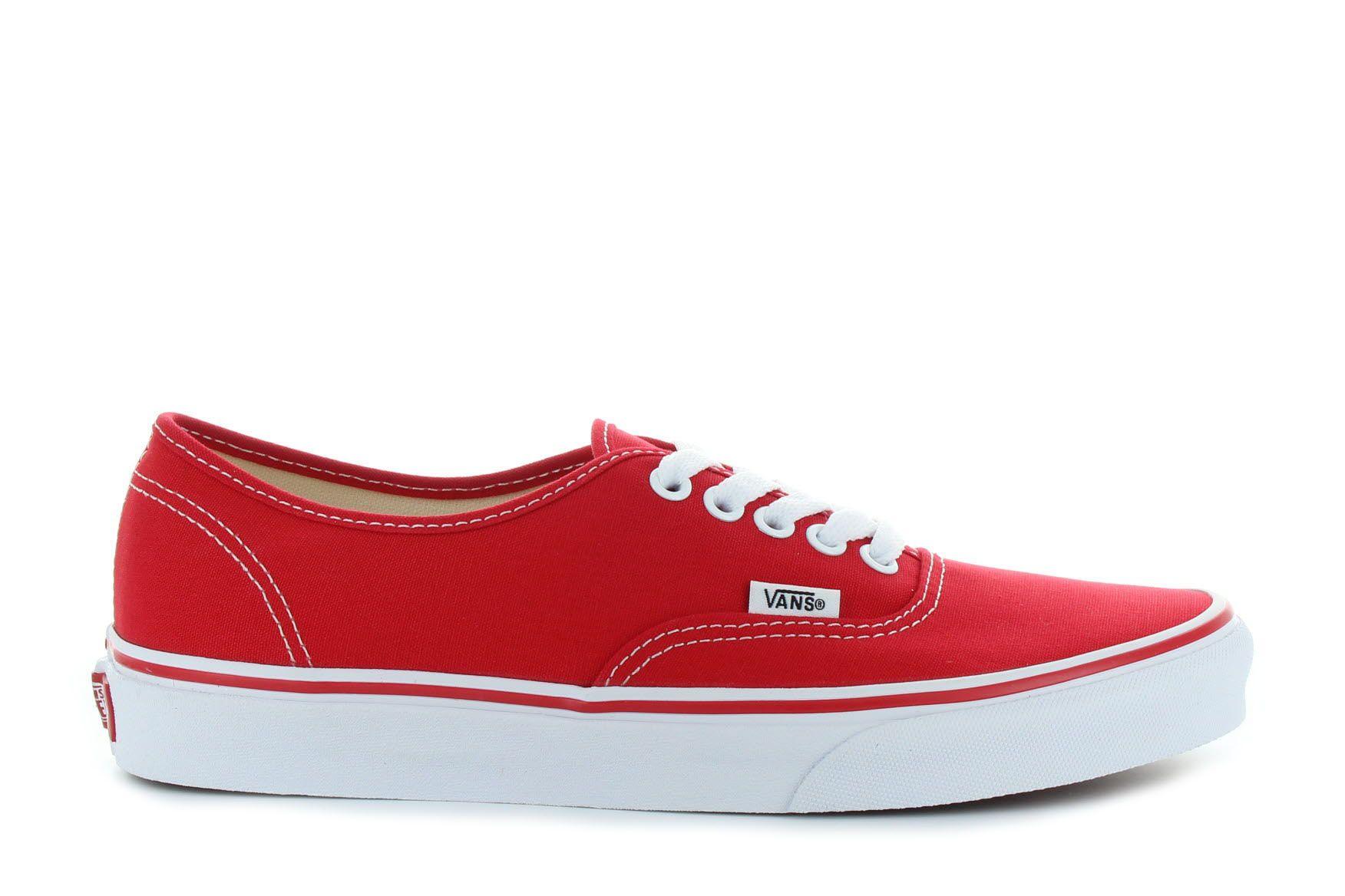 Vans Authentic piros cipő